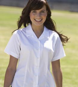 Rever blouse short sleeve- twin pack.